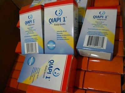 La AEMPS ordena la retirada del mercado de QIAPI 1