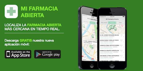 Una aplicación para localizar farmacias