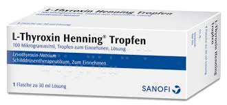 L-thyroxin Tropfen 100 mcg/ml solución oral 30ml