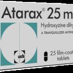 Restricciones de uso de Atarax