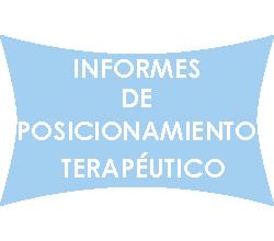 INFORMES TERAPÉUTICOS